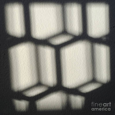 Optical Illusion Photograph - Cubes by Luke Moore