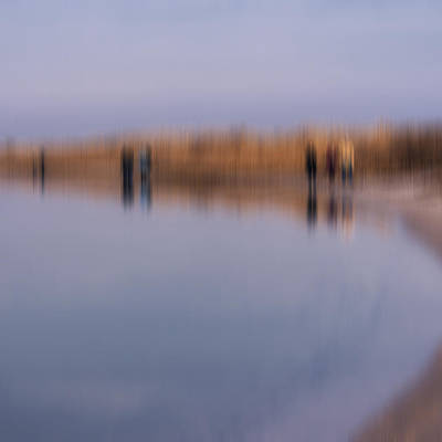 Cupsogue Beach I Print by Bob Retnauer