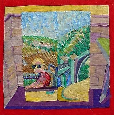 Cut Painting One  Original by Jack Sullivan