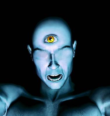 Cyclops Photograph - Cyclops by Christian Darkin