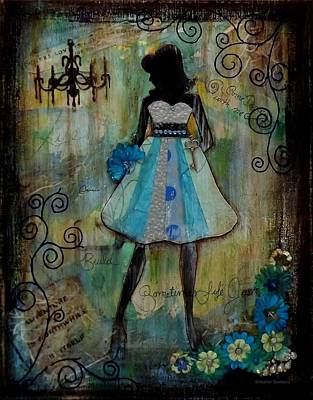 Dance With Me Print by Heather Saulsbury