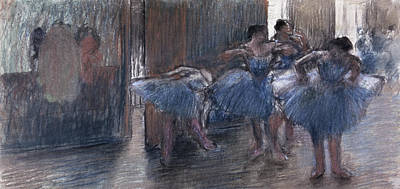 Dancers Print by Edgar Degas