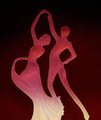 Ballroom Digital Art - Dancers by Lori Seaman