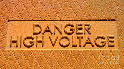 Mortal Photograph - Danger High Voltage by Gary Whitton