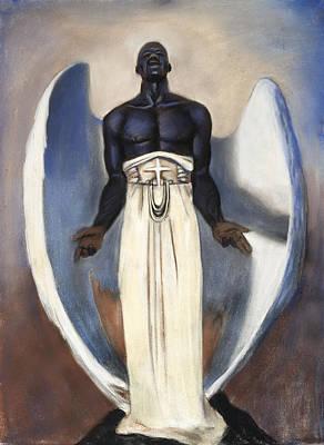 D'arc Angel Original by L Cooper