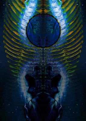 Transcend Digital Art - Dark Matter Twins by David Kleinsasser