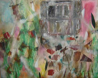 Painting - Dark Window. by Cima Azimi