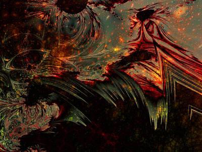 Darkness' End Print by Lauren Goia
