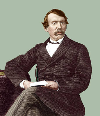 Zambesi River Photograph - David Livingstone, Scottish Missionary by Sheila Terry