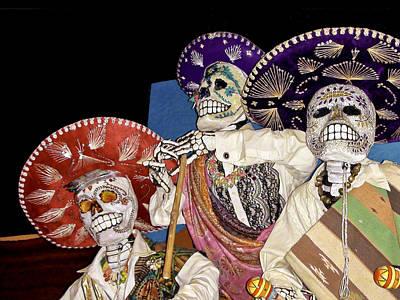 Music Photograph - Day Of The Dead Dia De Los Muertos by LeeAnn McLaneGoetz McLaneGoetzStudioLLCcom