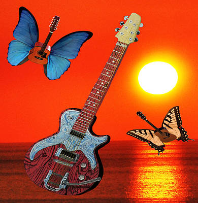 Lepidopterans Digital Art - Daydream Believer by Eric Kempson