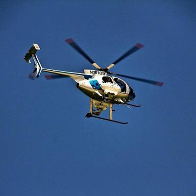Helicopter Photograph - #daytonabeach #lifeguard #helicopter by Dwight Woolford