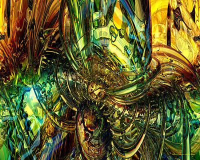 Abstract Digital Art - Dazzle Me Fx  by G Adam Orosco