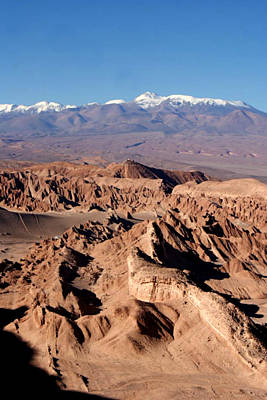 Y120817 Photograph - Death Valley - San Pedro De Atacama - Chile by Lelia Valduga