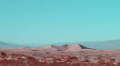 Death Valley Dunes 2 Print by Naxart Studio
