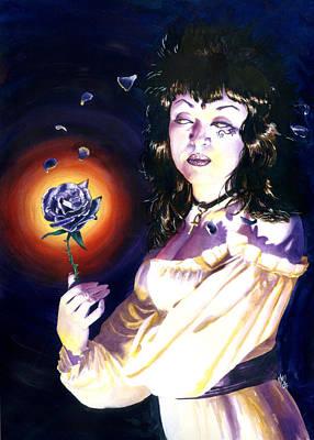 Horror Painting - Deathrose by Ken Meyer jr