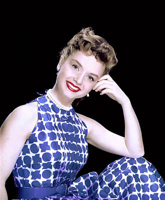Debbie Reynolds, C. 1950s Print by Everett