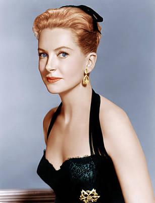 Earrings Photograph - Deborah Kerr, Ca. 1959 by Everett