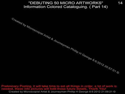 Debuting 50 Micro Artworks Part 14 Print by Phillip H George