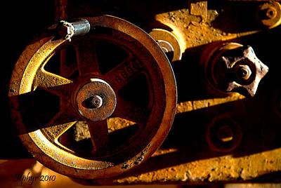 Mining Photograph - Deep Shadows by Jephyr Art