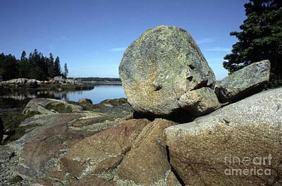 Penobscot Bay Photograph - Deer Isle Granite by Thomas R Fletcher