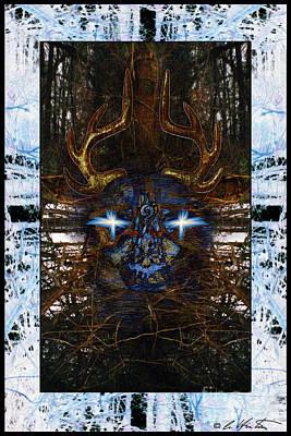 Deer Messenger Print by Alyssa Hinton