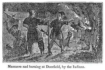 Deerfield Massacre, 1704 Print by Granger