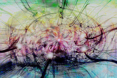 Deform To Form A Star Print by Linda Sannuti