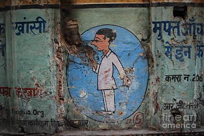 Delhi Smoker Print by Jen Bodendorfer