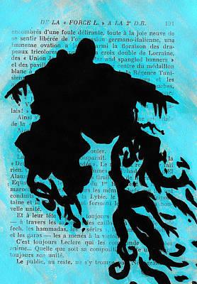 Icon Drawing - Dementor Doe by Jera Sky