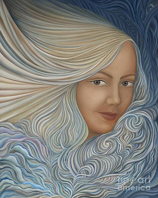 Curvilinear Painting - Demeter by Joanna Pregon