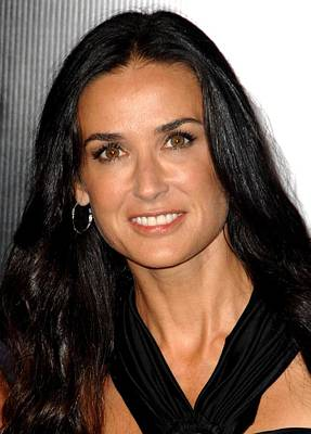 Demi Moore At Arrivals For Rodeo Drive Print by Everett