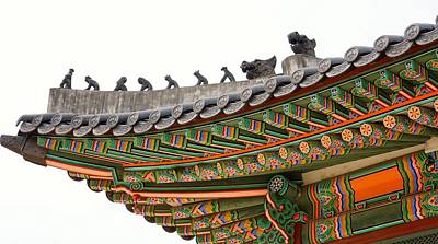 Y120817 Photograph - Deoksugung Palace by Nancy W Dock