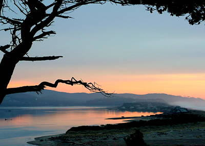 Depoe Bay Sunset Print by Cindy Wright
