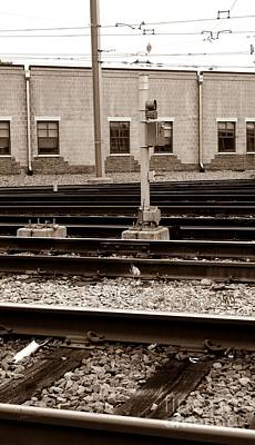 Train Depot Photograph - Depot by Luke Moore