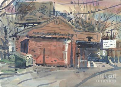 Derek Painting - Derek's Five by Donald Maier