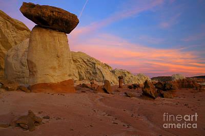 Rimrock Photograph - Desert Balance by Mike  Dawson