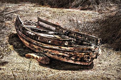 Pioneertown Photograph - Desert Boat by Danuta Bennett