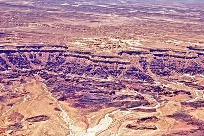 Desert Crater Print by Jenn Bodro