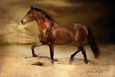 Livestock Digital Art - Desert Heat by Dorota Kudyba