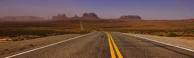 Light Photograph - Desert Highway by Andrew Soundarajan