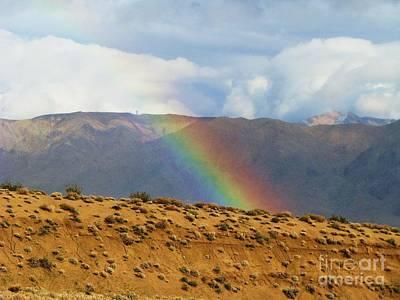 Desert Rainbow Print by Michele Penner