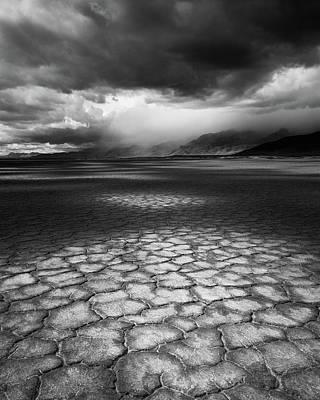 Desert Storm Print by Tim Gallivan