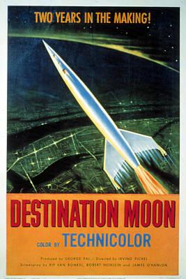 1950 Movies Photograph - Destination Moon, 1950 by Everett