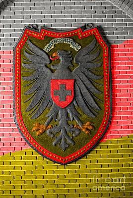 Zion Lutheran Church Photograph - Deutsch Weimarer Shield by Jost Houk