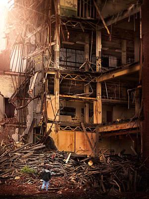 Devastation Original by Robert Mirabelle
