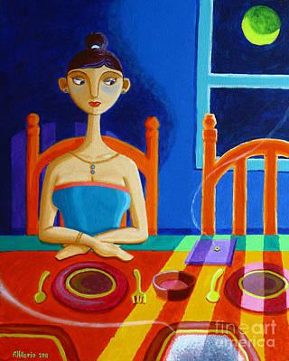 Meal Painting - 'di Parang Kaning Mainit by Paul Hilario