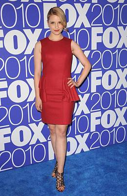 Dianna Agron Photograph - Dianna Agron Wearing A Michael Kors by Everett