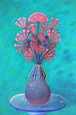 Diatoms Print by Purvis Evans