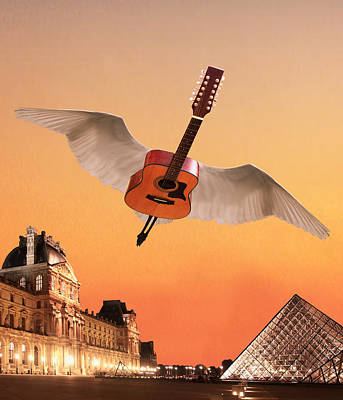 Flying Guitars Digital Art - Didnt We Almost Have It All by Eric Kempson